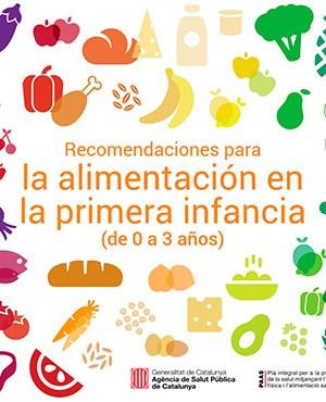Recomendaciones para la alimentación en la primera infancia (de 0 a 3 años)
